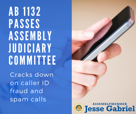 AB 1132 passes Assembly Judiciary Committee