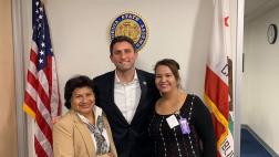 The Assemblymember & Representatives from SEIU