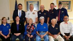 Veteran Award Recipients and Member Group Photograph