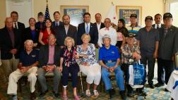 Veteran Award Recipient & Elected Official Group Photograph